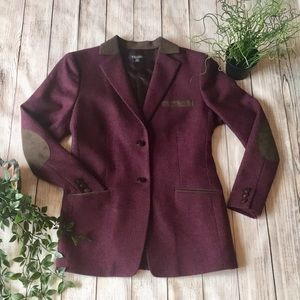 Brooks Brothers Purple Wool Blazer